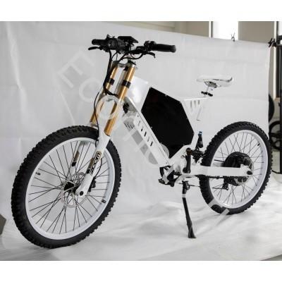 Мощный электровелосипед эндуро E- bike G17280 72v 8000w electric bike