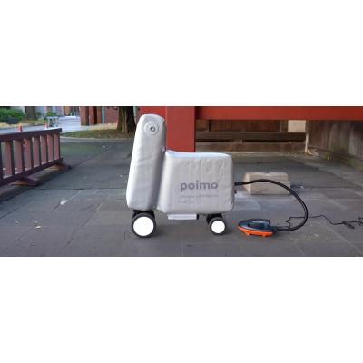 Надувной электровелосипед Piomo влезает в рюкзак