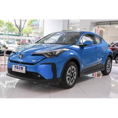 Паркетник Toyota C-HR превратился в электромобиль