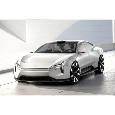 Volvo даст бой Tesla: посмотрите на новый электрокар от Polestar