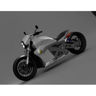 Китайцы показали крутой электрический мотоцикл