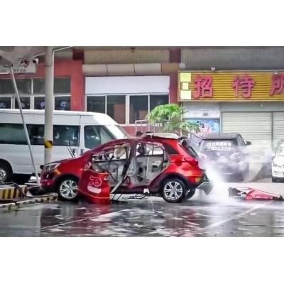 Видео: китайский электрокар взорвался во время зарядки