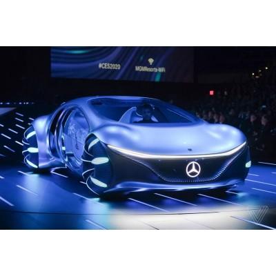 Первый электромобиль от Sony и «машина На'Ви» от Mercedes-Benz: