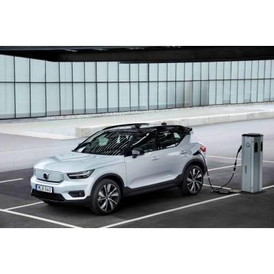 Volvo начала производство своего первого электрокара — кроссовер