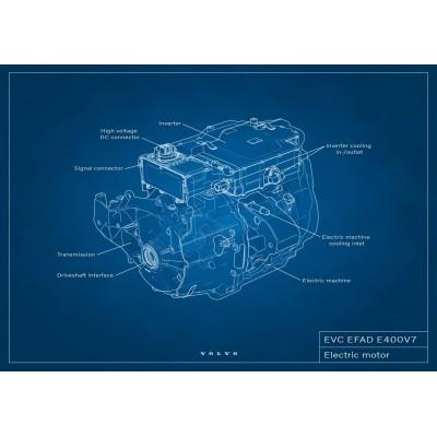 Volvo оснастит электромобили моторами собственной разработки