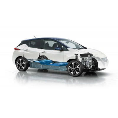 Аккумуляторы Nissan EV получают вторую жизнь в транспорте и элек
