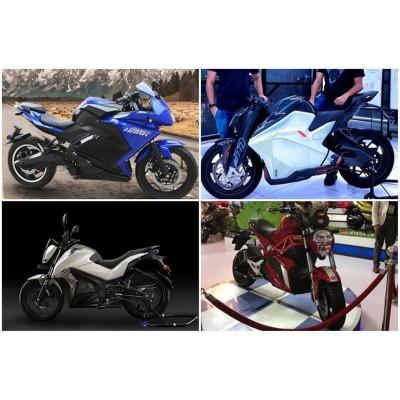 Топ-5 грядущих электромотоциклов производства Индии в 2021 году
