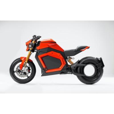 На новых фотографиях представлен электрический мотоцикл мощность