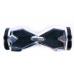 """Гироскутер Smart Balance 8"""" серебро хром +LED"""