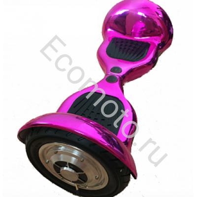 """Гироскутер Smart Balance 10"""" хром розовый"""