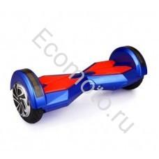 """Гироскутер Smart Balance 8"""" сине-красный +LED"""