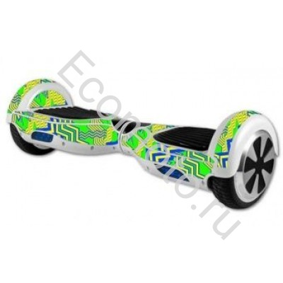"Гироскутер Smart Balance 6,5"" узор зеленый"