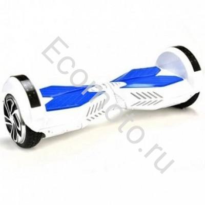 "Гироскутер Smart Balance 8"" бело-синий +LED"