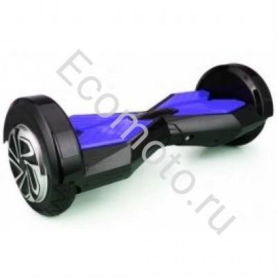 """Гироскутер Smart Balance 8"""" черный с синим +LED"""