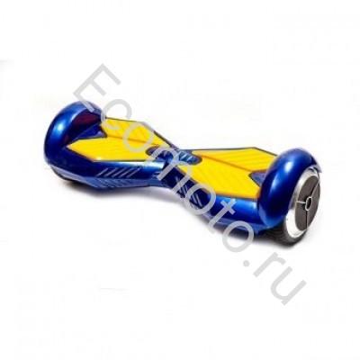 """Гироскутер Smart Balance 8"""" синий с желтым"""