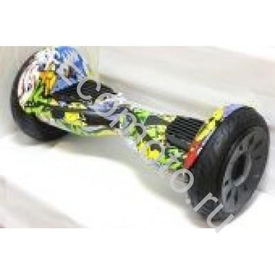 Гироскутер Smart Balance Wheel 10.5 дюймов черепки с приложением