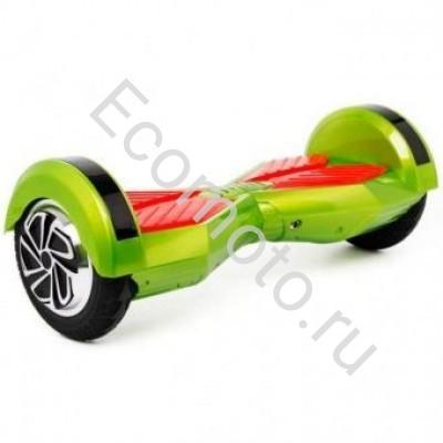 """Гироскутер Smart Balance 8"""" зеленый с красным +LED"""