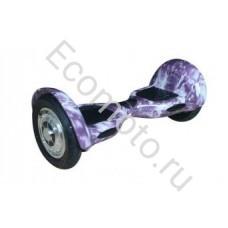 """Гироскутер Smart Balance 10"""" молния фиолетовый"""