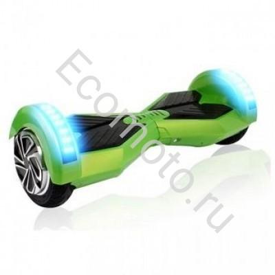 "Гироскутер Smart Balance 8"" зеленый +LED"
