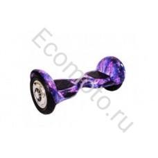 """Гироскутер Smart Balance 10"""" космос фиолетовый с приложением"""