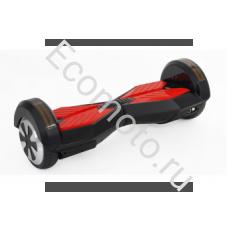 """Гироскутер Smart Balance 8"""" черно-красный +LED"""