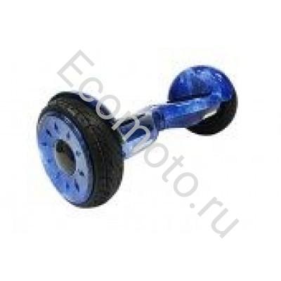 """Гироскутер Smart Balance Wheel Pro Premium 10.5"""" синий космос с приложением"""