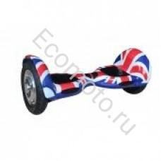 """Гироскутер Smart Balance 10"""" британский флаг с приложением"""