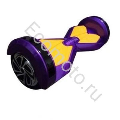 """Гироскутер Smart Balance 8"""" фиолетовый с желтым +LED"""