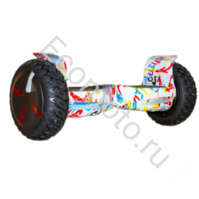 "Гироскутер Smart Balance Off Road Kiwano 9"" граффити белый"