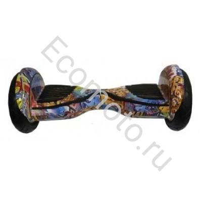 Гироскутер Smart Balance wheel suv premium 10.5 дюймов Оранжевый граффити