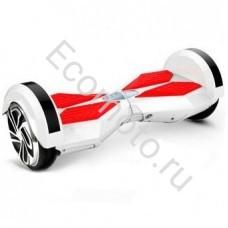 """Гироскутер Smart Balance 8"""" бело-красный +LED"""