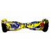 """Гироскутер Smart Balance 6,5"""" граффити желтый"""