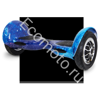 """Гироскутер Smart Balance 10"""" космос синий с приложением"""