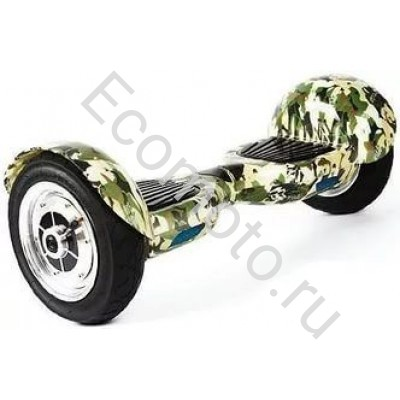 """Гироскутер Smart Balance 10"""" камуфляж зеленый"""