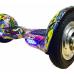 """Гироскутер Smart Balance Balance 10"""" Граффити желтый"""