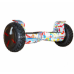 "Гироскутер Smart Balance Offroad 9"" граффити белый (+ Mobile APP)"