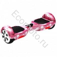 """Гироскутер Smart Balance 6,5"""" хаки розовый"""