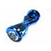 "Гироскутер Smart Balance 8"" синий хром +LED"