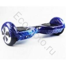 """Гироскутер Smart Balance 6,5"""" галактика синий"""