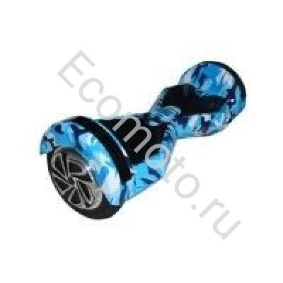 "Гироскутер Smart Balance 8"" хаки голубой +LED"