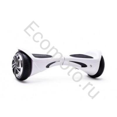"""Гироскутер Smart Balance Genesis Diamond белый карбон 6,5"""""""