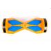 """Гироскутер Smart Balance 8"""" оранжевый с голубым +LED"""