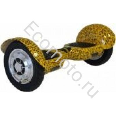 """Гироскутер Smart Balance 10"""" леопард желтый с приложением"""