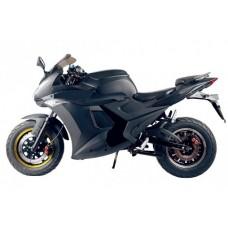 Электромотоцикл спортбайк GTL-3000W черный матовый