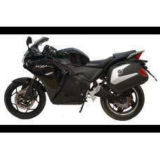 Электромотоцикл спортбайк YCR-3000W черный с красным
