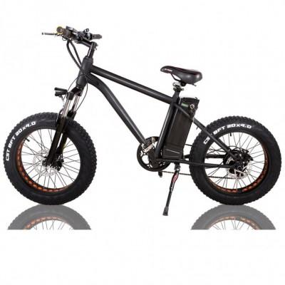 Электровелосипед фэтбайк nakto FC20 Cruiser 20 дюймов Черный