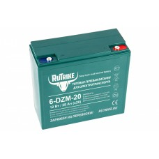 Тяговый гелевый аккумулятор 6-DZM-20 (12V20A/H C2)